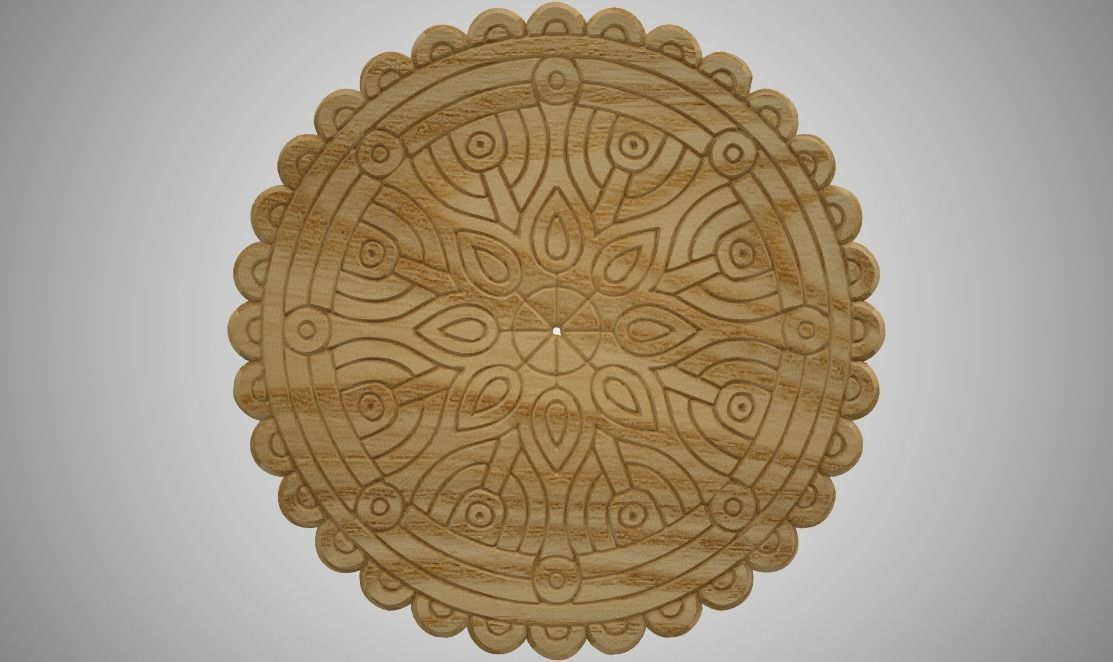 Wooden  Trivet