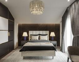 Bedroom master 3D
