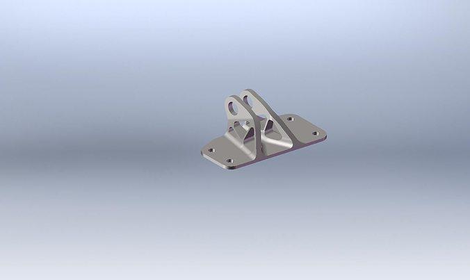 ge jet engine bracket 3d model  1