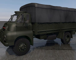 truck 3D Bedford RLC3 Truck