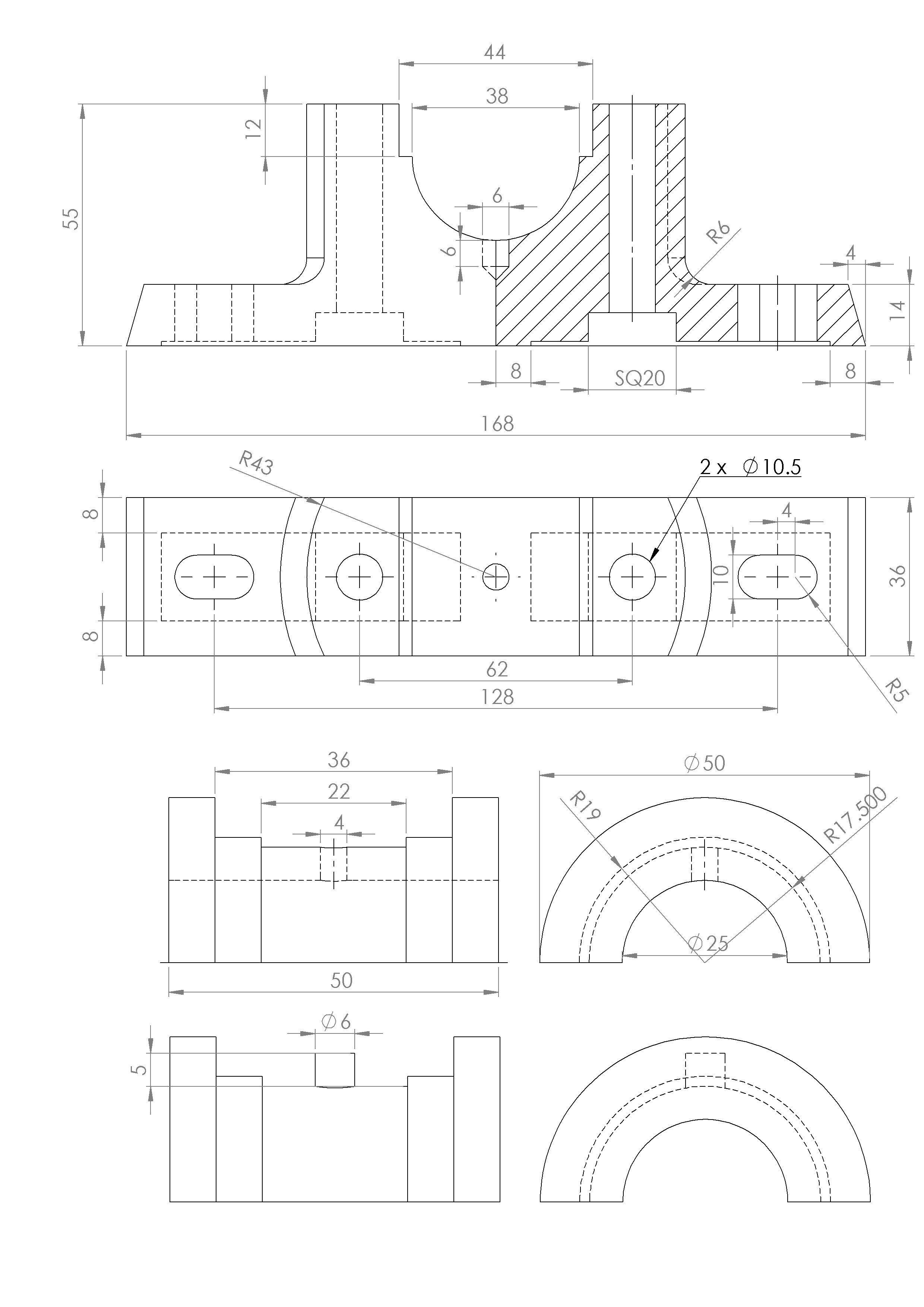 plummer block free 3d model stl sldprt sldasm slddrw ige