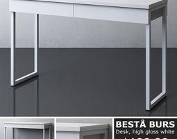 IKEA BESTA BURS Desk 3D
