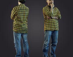 3d scan man 10
