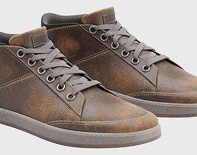 3D model Used Sneakers