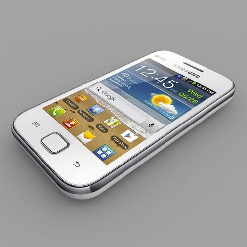 samsung galaxy ace duos  3d model max obj mtl 3ds dxf 1