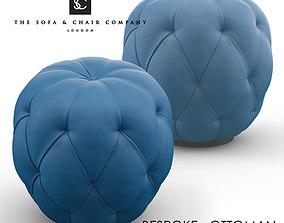 3D Bespoke Ottoman STL-B0170