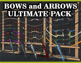 3D model Ultimate Bows and Arrows Vol1