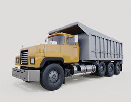 Mack track 3D model