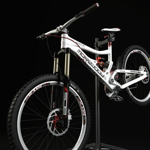 mountain bicycle 3d model max fbx 1