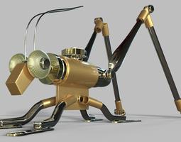 steampunk grasshopper 3d
