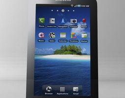 samsung p1000 galaxy tablet 3D