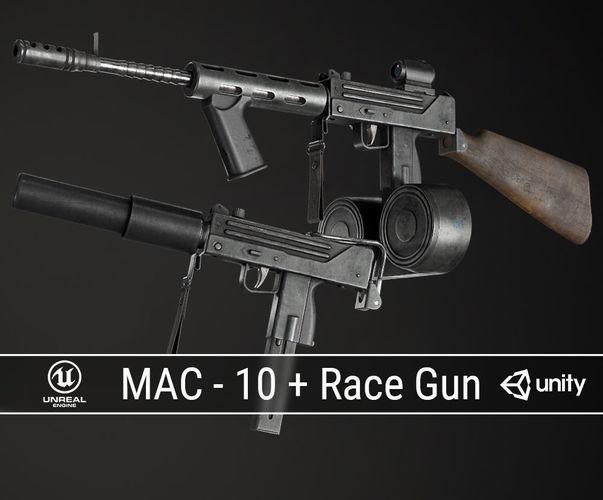 PBR MAC-10 Pack