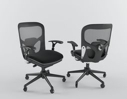Office chair-190-NA 3D