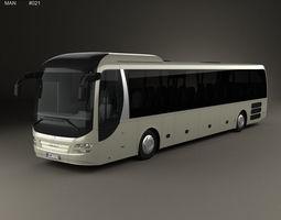 MAN Lions Regio C Bus 2008 3D model