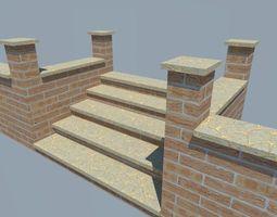 3d asset realtime brickstep