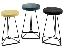 3D asset Delta Counter Stool