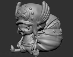 Tony Tony Chopper ONE PIECE 3D printable model