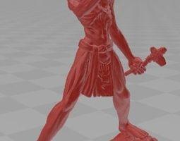 3D print model Eddie Shaman The Book of Souls