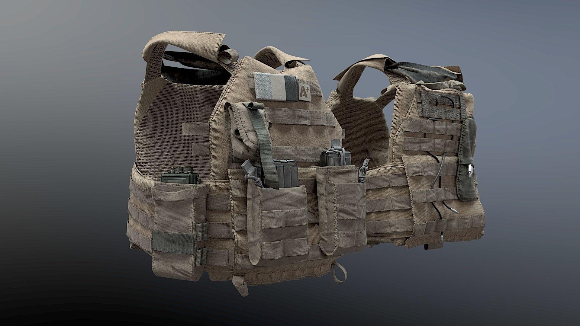 SOLDIER Bulletproof Vest 04