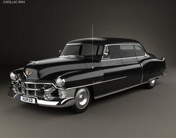 3D Cadillac 75 sedan 1953