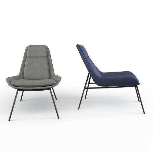 eero accent lounge chair 3d model max obj mtl fbx mat 1