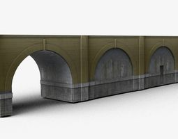 3D model Bridge concrete