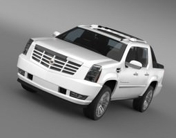 Cadillac Escalade 2013 EXT 3D