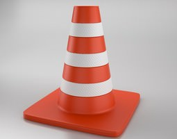 3D model Cone of Road