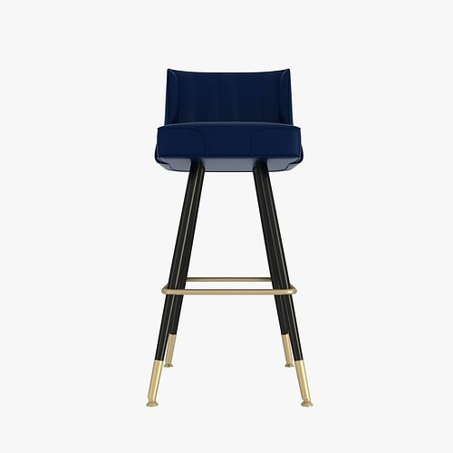 Richardson Seating Bar Stool 3d Model Max Obj 3ds Fbx