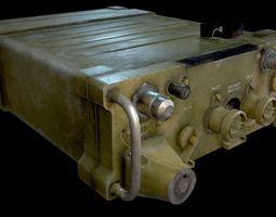 3D model AN - PRC-77 Portable Radio Transceiver - 2