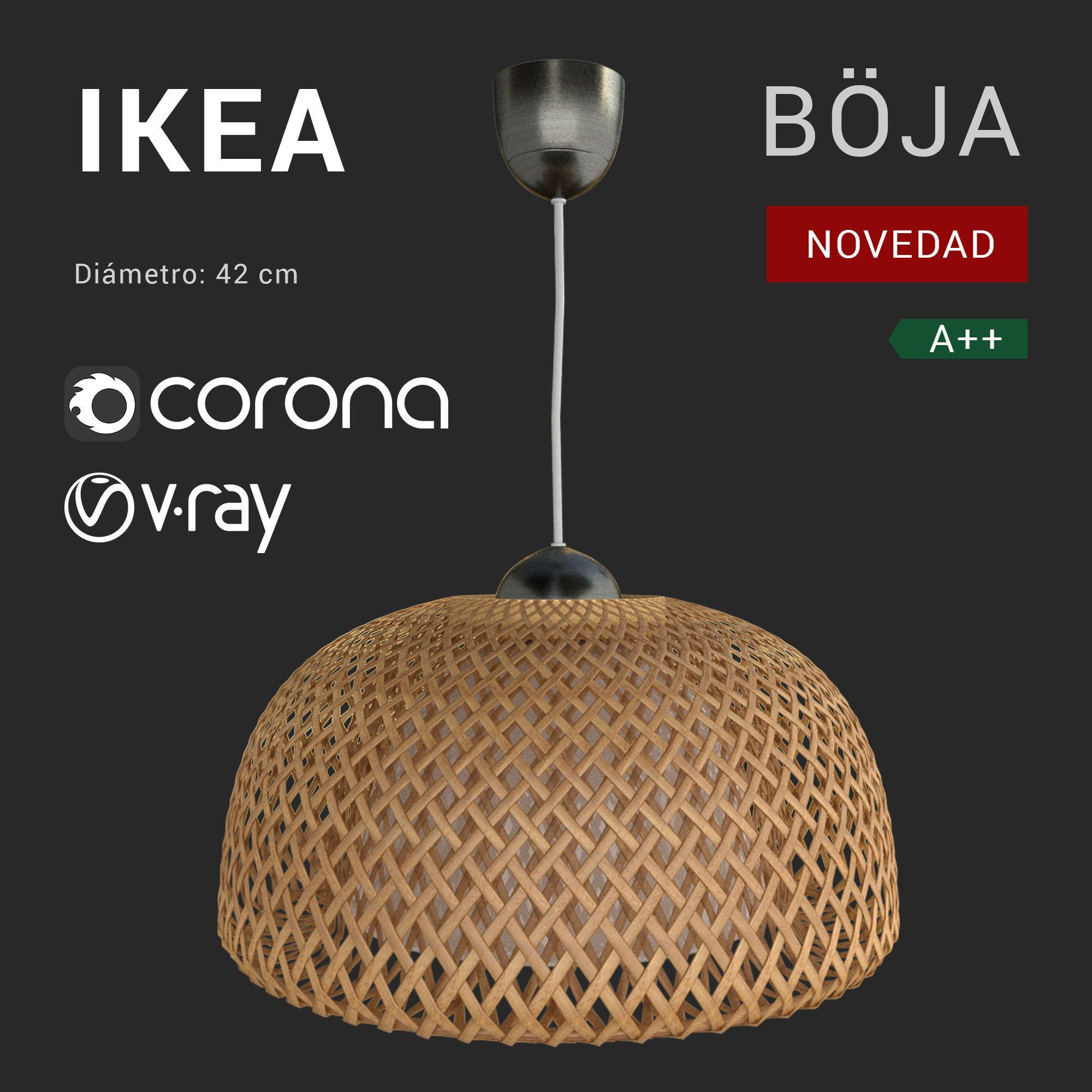 Boja Lamp Ikea 2018 | 3D model