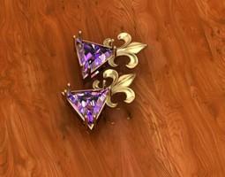 crown pendant 3D Model