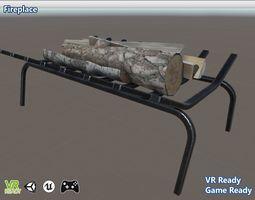 3D asset Firewood Rack Optimize