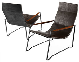 3D model Lounge Chair Based in Eames Chair