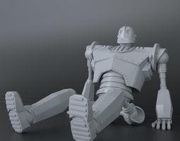 Iron Giant 3D Print Ready Model V1