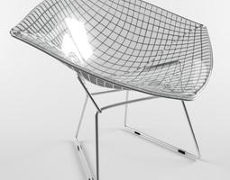 Diamond Chair Harry Bertoia Knoll Studio 3D Model