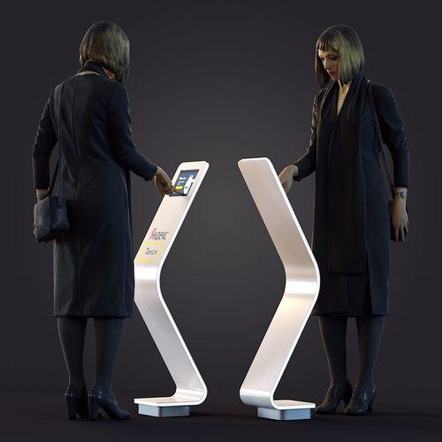 3d scan woman 4 3d model max obj mtl fbx 1