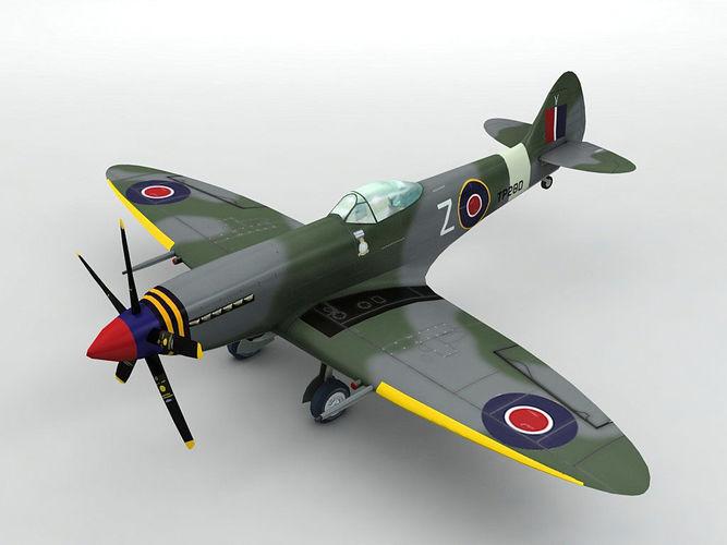 Supermarine Spitfire MK XVIII Aircraft
