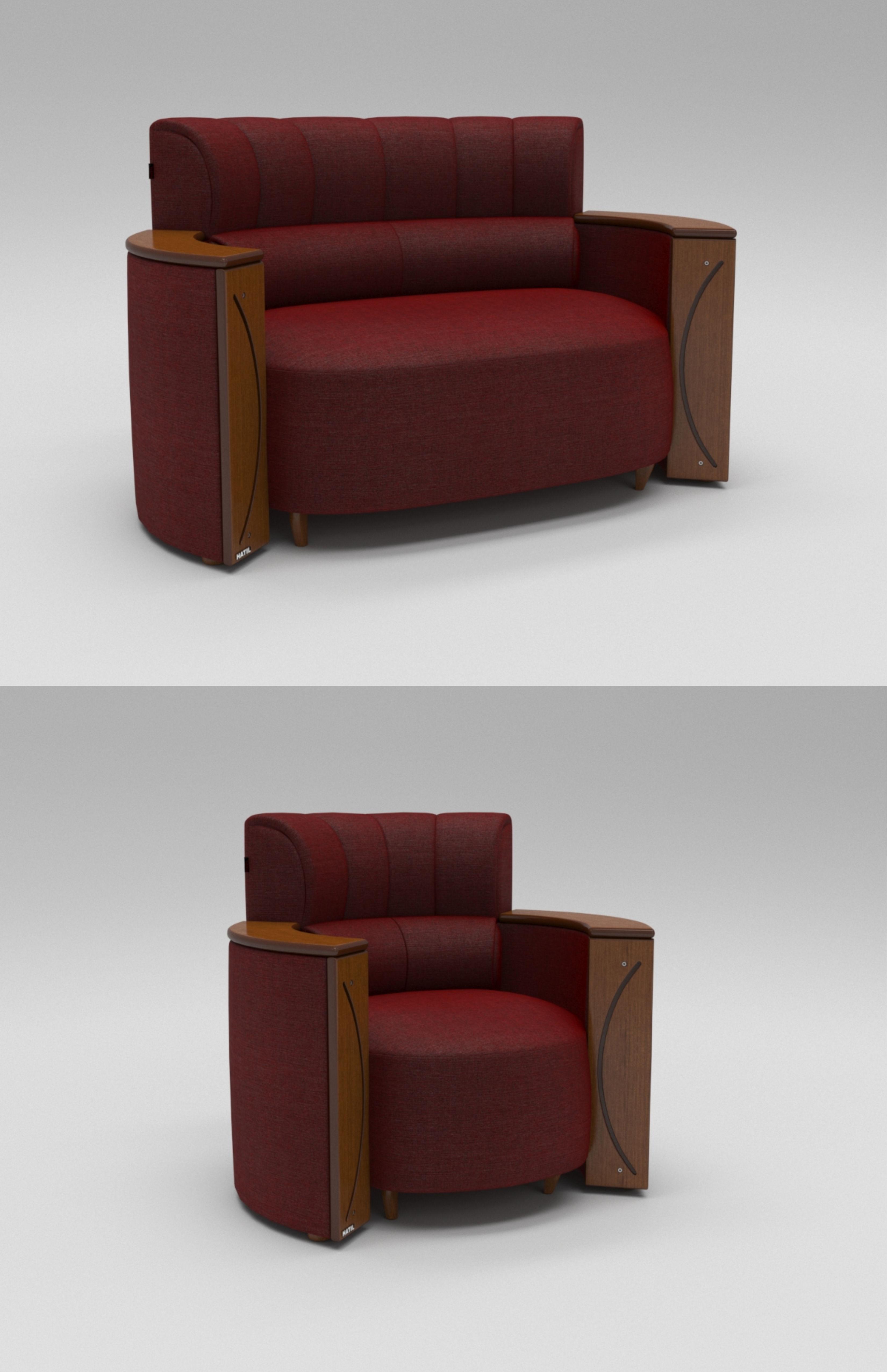 Cafelyn Sofa 3D Model