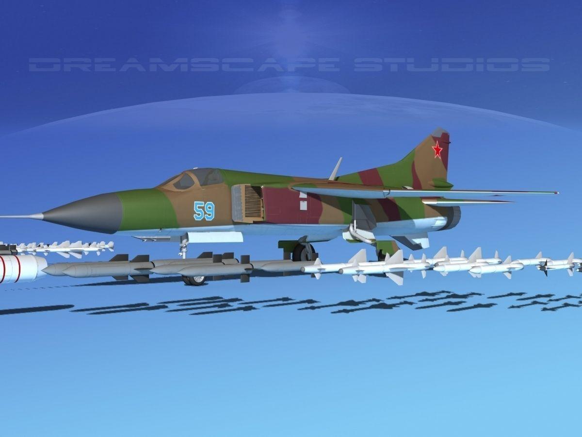 Mig 23 Flogger B V09 Russia