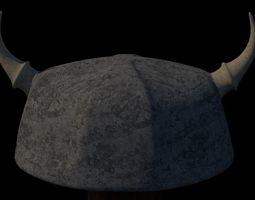 Viking Helmet 3D model game-ready