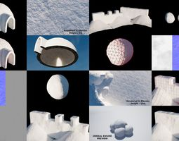 3D model Winter Collection