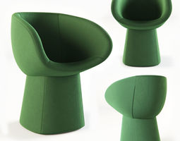 Moroso Armada small armchair 3D model