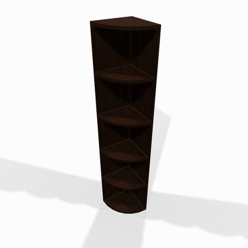 wooden corner shelf 3d model max obj mtl 3ds fbx tga 1