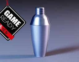Shaker 3D asset