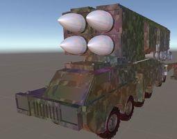 Medium Range Missile 3D model