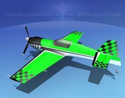 MXS Aerobatic Sport 3D model rigged