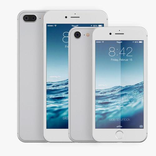 apple iphone 8 vs 8plus 3d model max obj mtl fbx 1