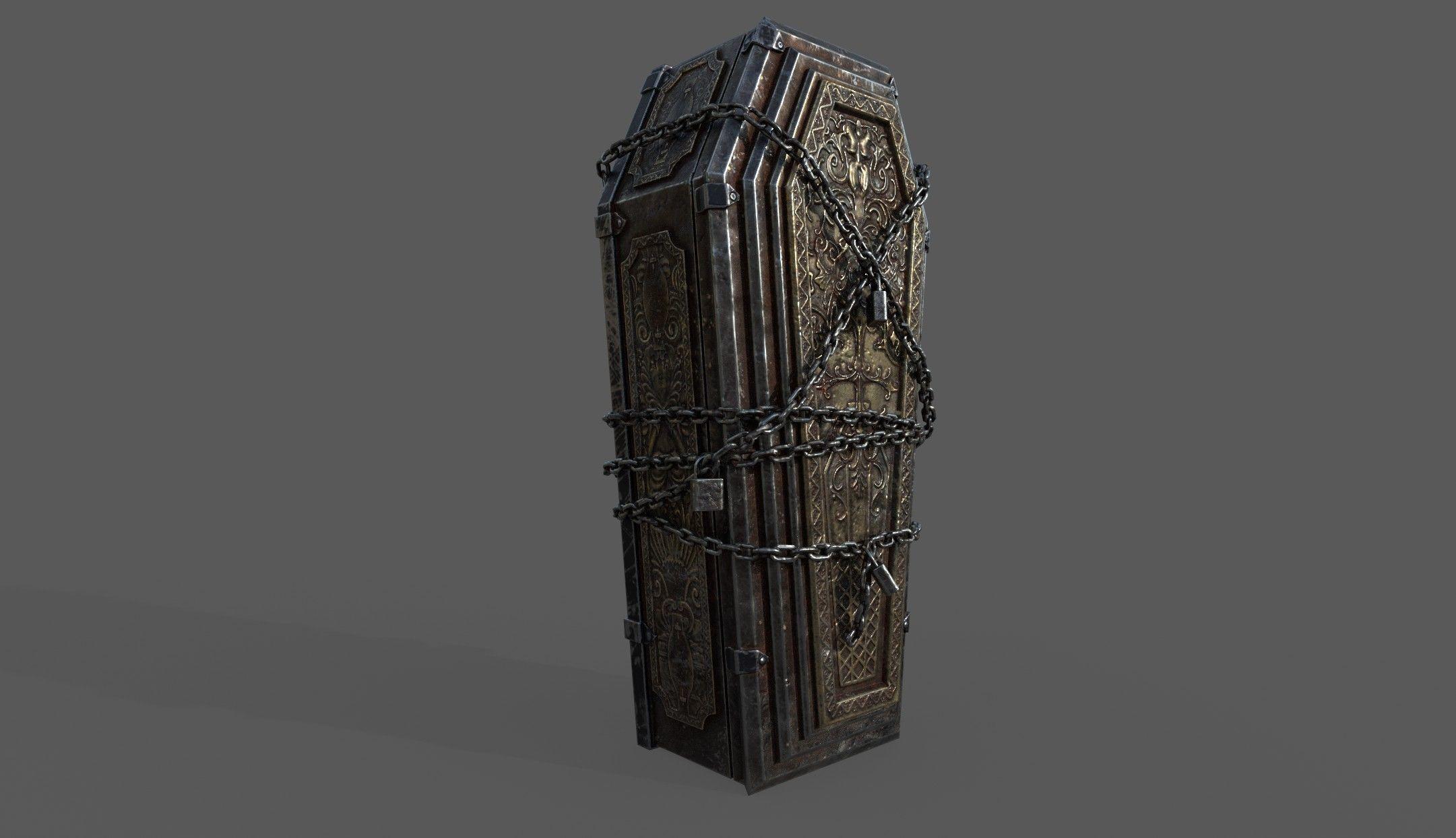 Bloodborne Style Coffin