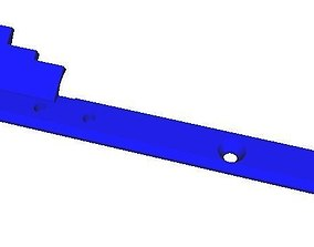 3D print model m4 Charging handle extension